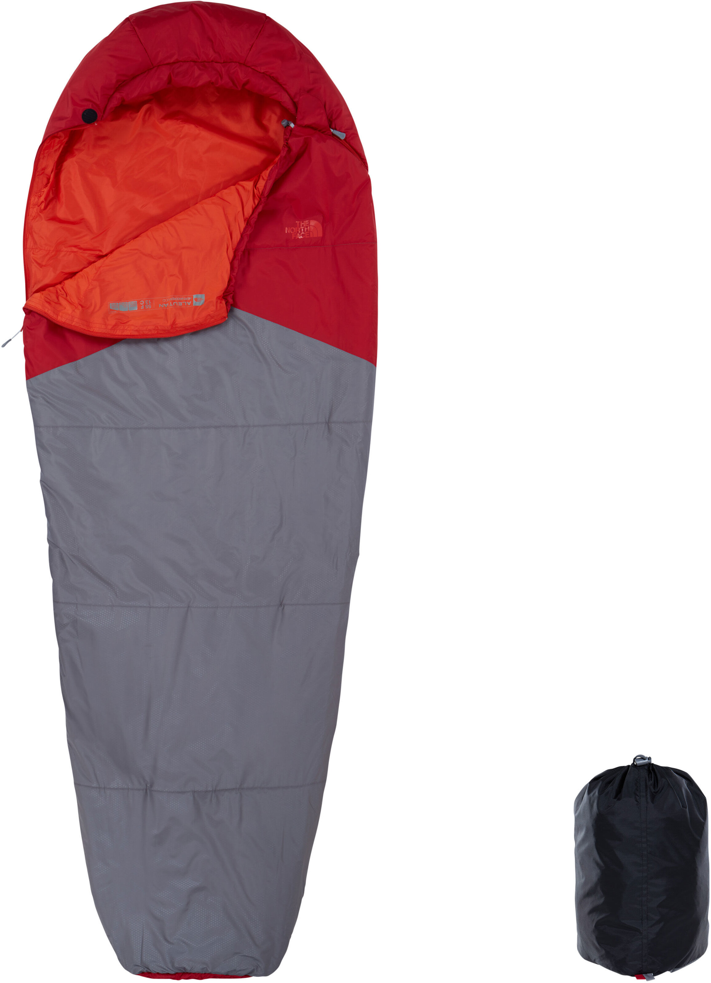 a599b016f8 The North Face Aleutian 55/13 - Sac de couchage - Long gris sur CAMPZ !